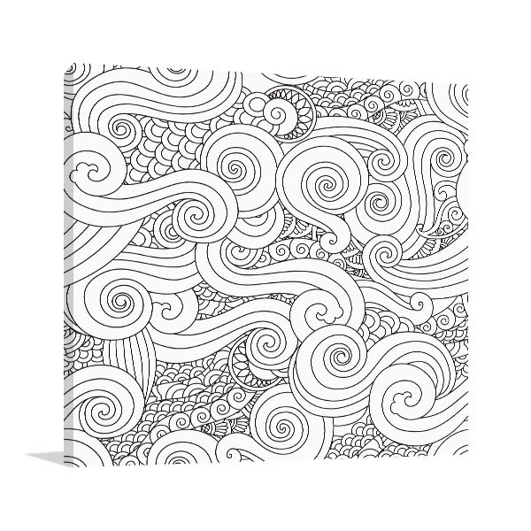 Clouds and Waves Wall Art