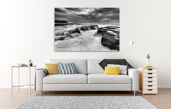 Coastal Seascape Canvas Art