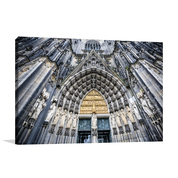 Cologne Cathedral Wall Artwork Print Canvas Art