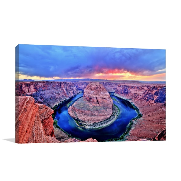 Colorado River Canvas Art Prints