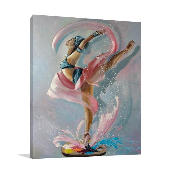 Colourful Splash Art Prints