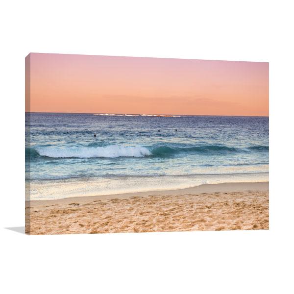 Coogee Beach Art Print Australia Sunset Wall Art