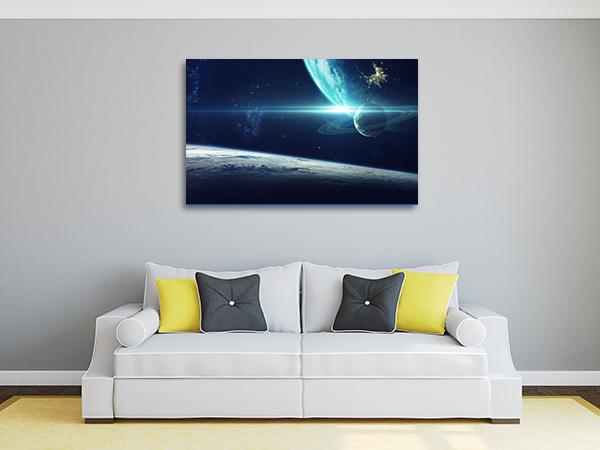 Cosmic Galaxy Artwork