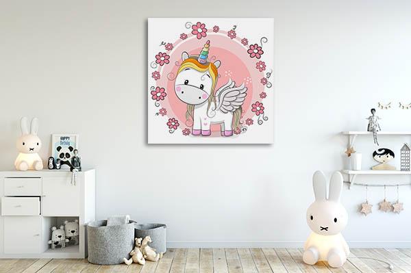 Cute Unicorn Canvas Prints