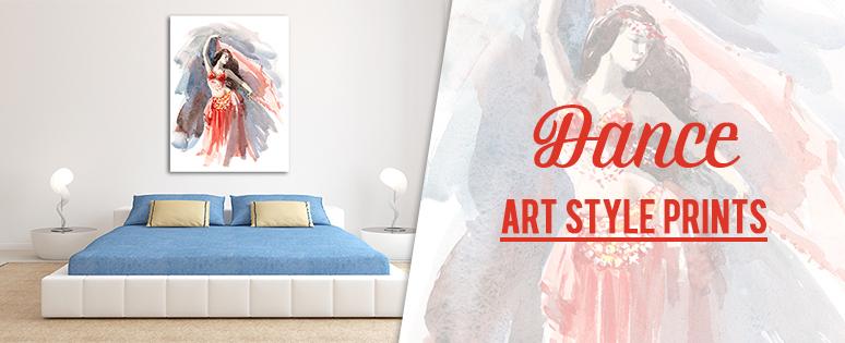 Dance Art Style Prints