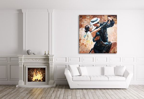 Dancer Lovers Prints Canvas