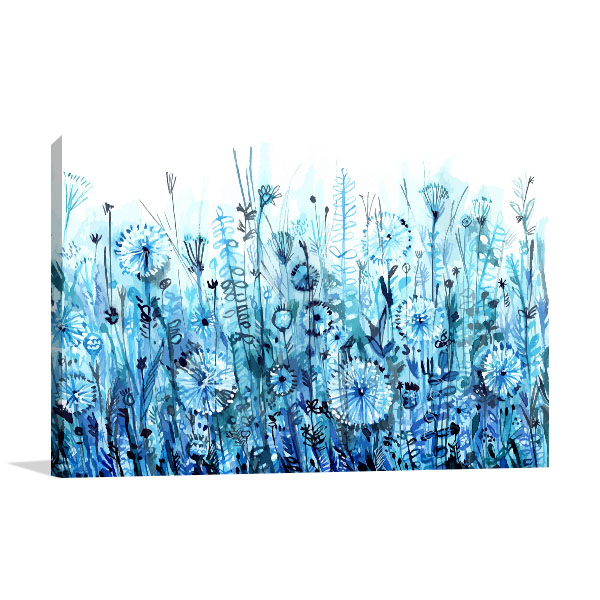 Dandelion Meadow Wall Art