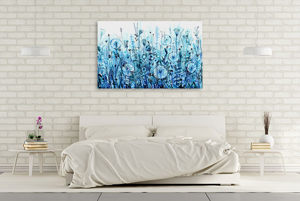 Dandelion Meadow Prints Canvas