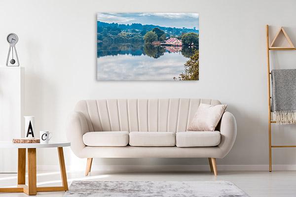Daylesford Art Print Boathouse Print Wall Art