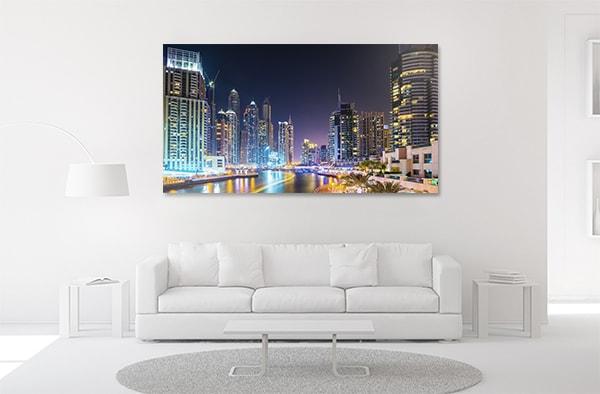 Dubai Marina Canvas Prints