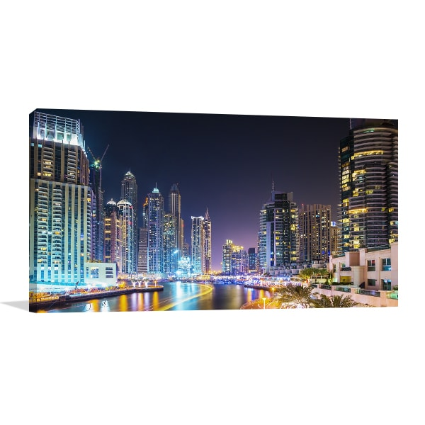 Dubai Marina Artwork