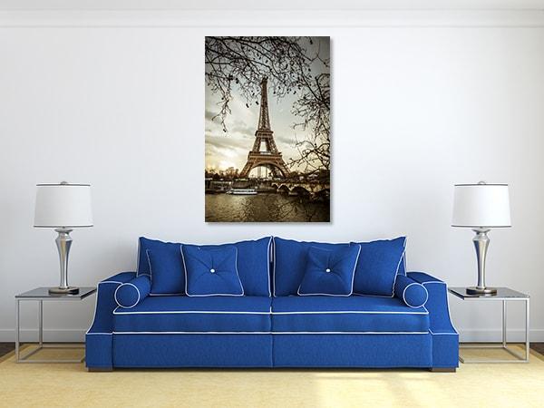 Eiffel Tower Canvas Art Prints