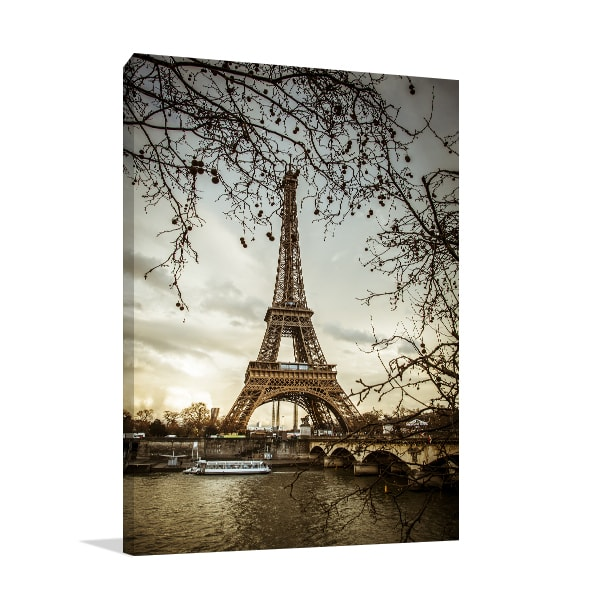 Eiffel Tower Wall Art Print ...