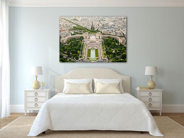 Eiffel Tower Top Paris View Artwork