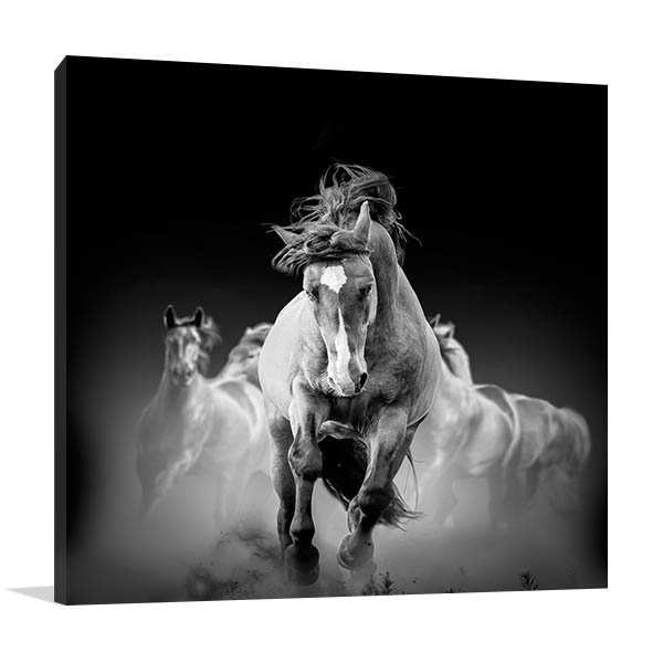 Equestrian Horse Wall Art Print Artwork