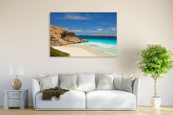 Esperance Art Print Clear Beach Canvas Art