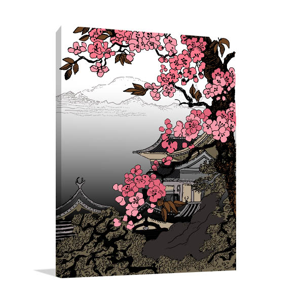 Famous Cherry Blossom Canvas Art ...