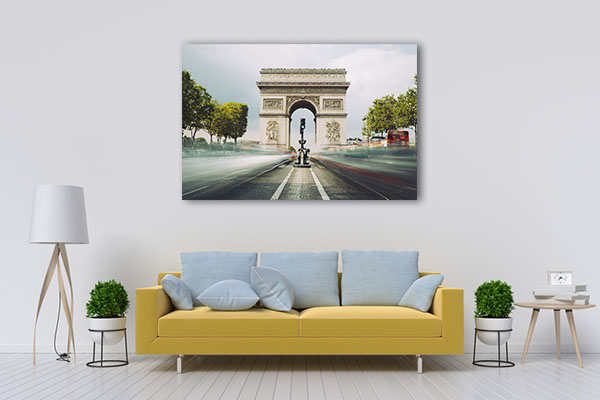 Famous Landmark in Paris Canvas Prints