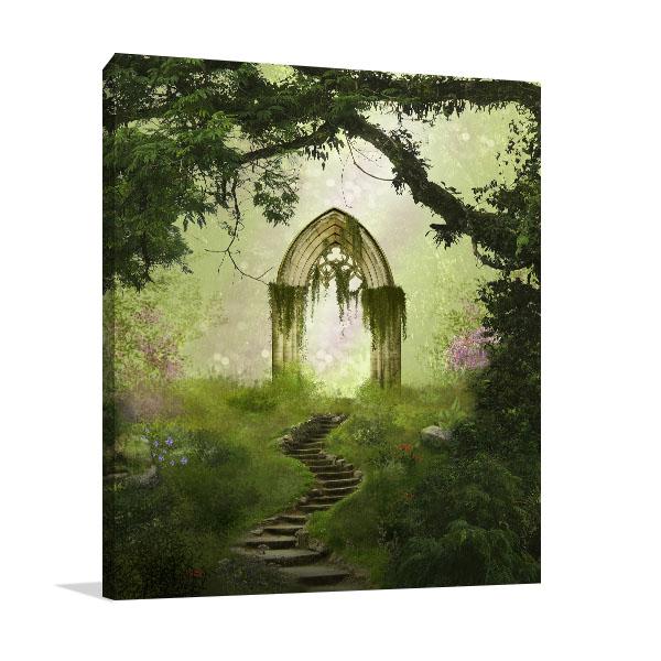 Fantasy Antique Gate Wall Art