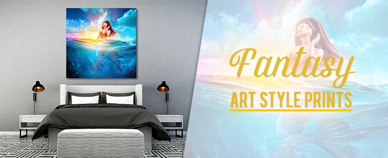 Fantasy Art Style Prints For Interior Design