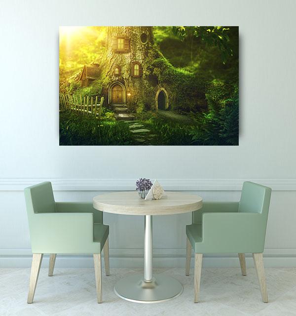 Fantasy Tree House Art Prints