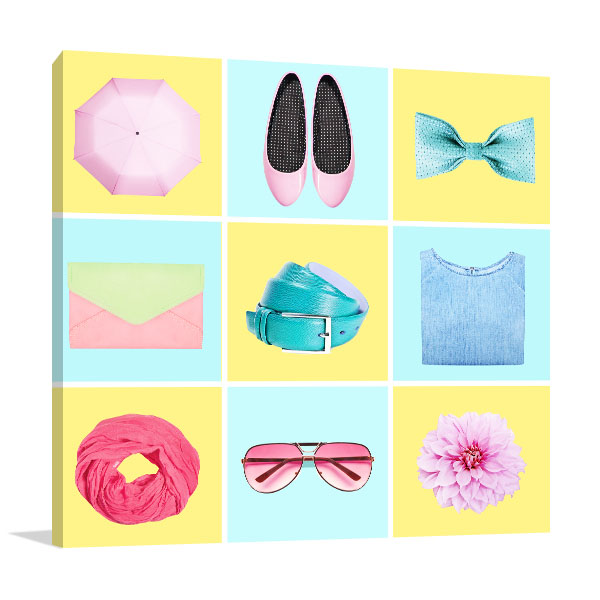 Fashion Blogger Concept Print Artwork