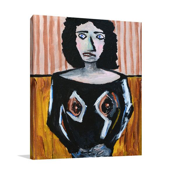 Figurative Woman Print Artwork