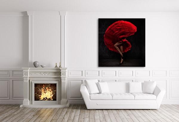 Flamenco Print Artwork