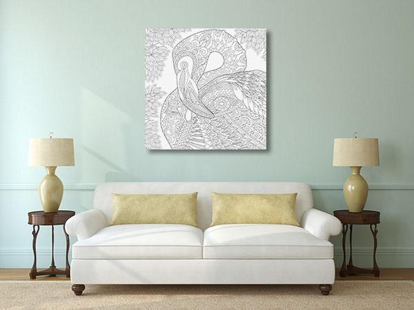 Flamingo Close-up Artwork