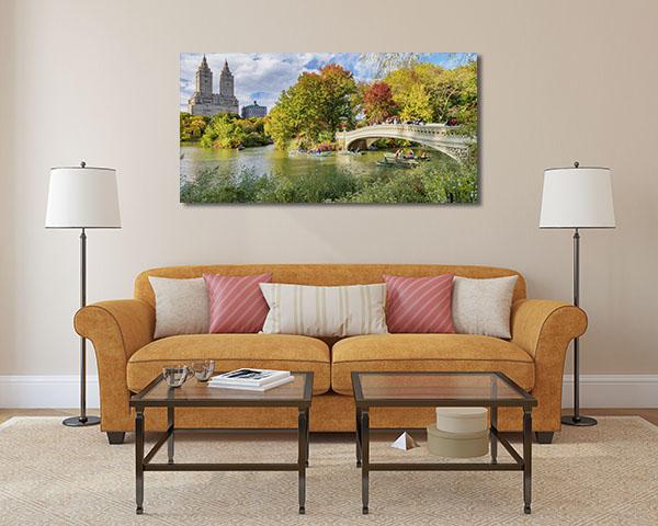 Foliage Colours Park Prints Canvas
