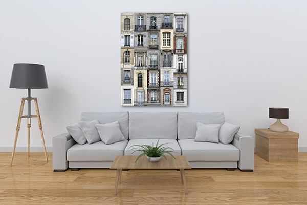 French Architecture Canvas Prints