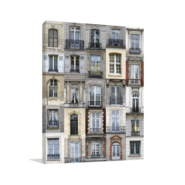 French Architecture Prints Canvas