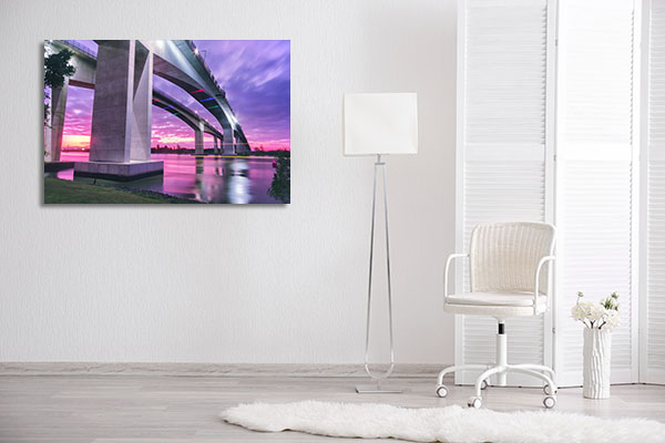Gateway Bridge Brisbane Canvas Prints