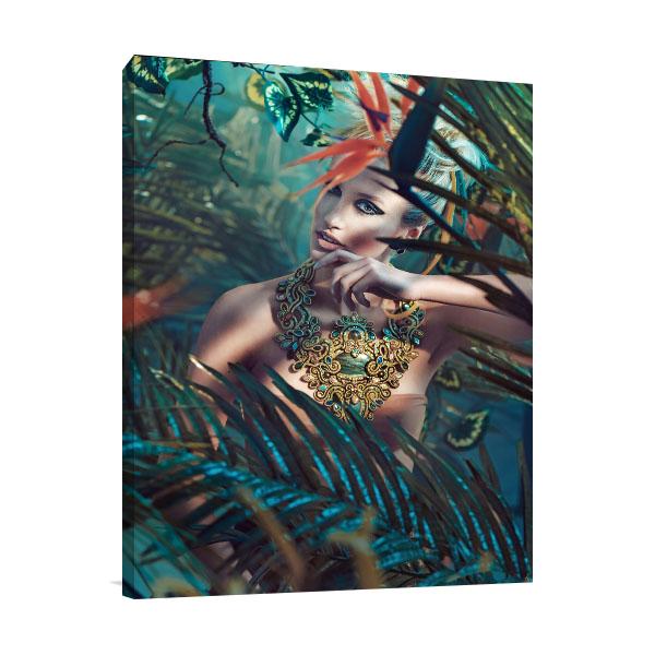 Glamorous Beauty Prints Canvas