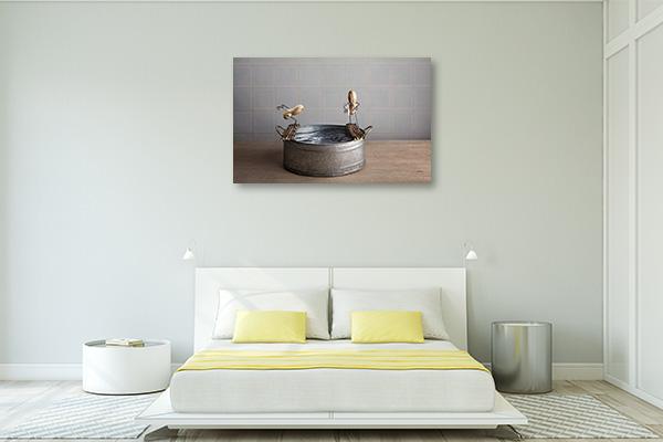 Go to Bath Canvas Art Prints