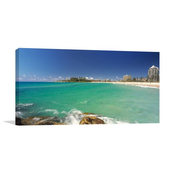 Gold Coast Milieu Canvas Art
