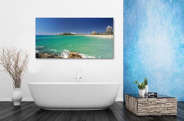 Gold Coast Milieu Prints Canvas