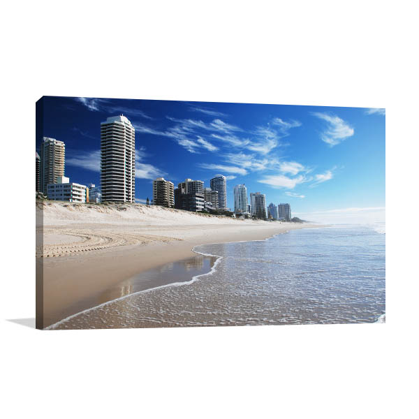 goldcoast beach canvas art print kitchen prints on canvas
