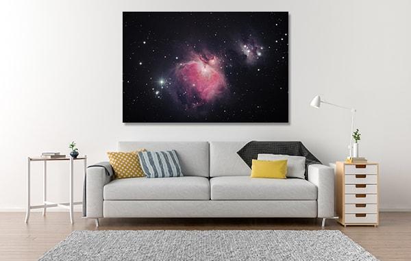 Grate Nebula Wall Art