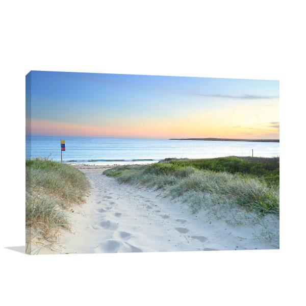Greenhills Beach Bay Art Print Sydney Sundown Photo Wall