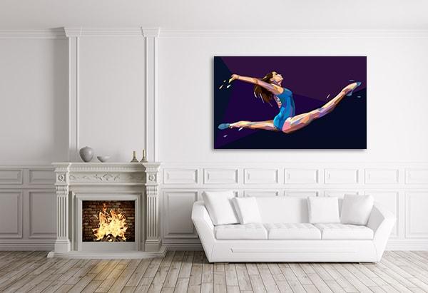 Gymnastic Prints Canvas