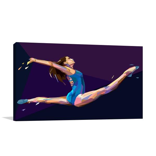 Gymnastic Art Prints