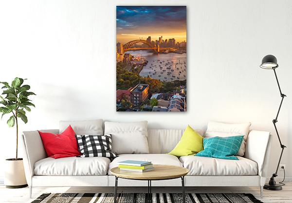 Harbour Bridge Sydney Canvas Art Prints