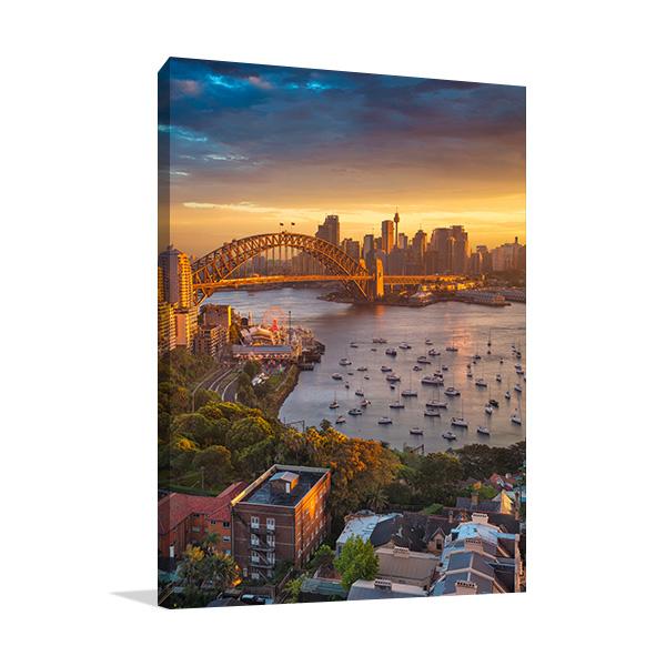 Harbour Bridge Sydney Print Artwork