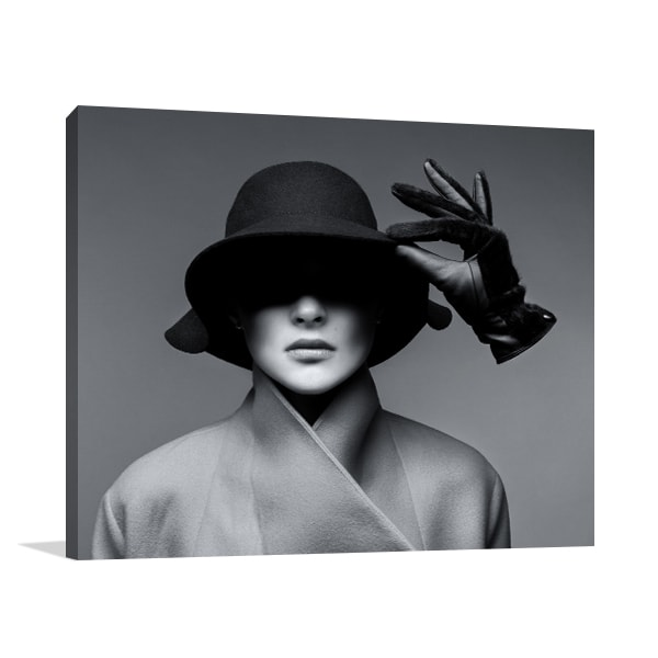 Hat And Glove Canvas Prints
