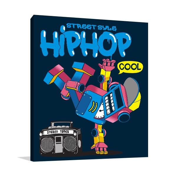 Hiphop Retro Wall Art