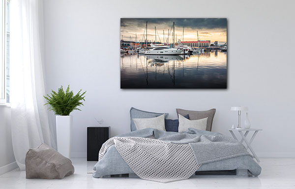 Hobart Harbor Prints Canvas
