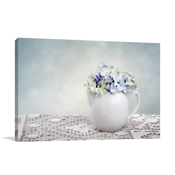 Hortensia Wall Canvas