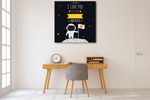 I Love You Wall Art