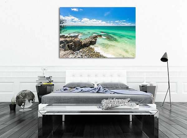 Incredible Blue Water Sunshine Coast Wall Art